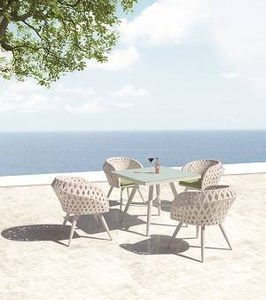 Outdoor  Dining Sets - Outdoor Dining Sets For 4 - Verona Dining Set for 4