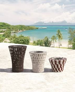 Accessories - Woven Planters - Verona Medium Flower Vase