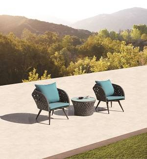 Outdoor Sofa & Seating Sets - Outdoor Seating Sets For 2 - Verona Outdoor Seating Set for 2