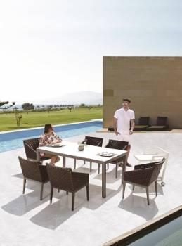 Outdoor Furniture Sets - Outdoor  Dining Sets - Florence Dining Set for 6