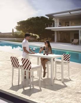Outdoor Furniture Sets - Outdoor Bar Sets - Florence Bar Set for 4