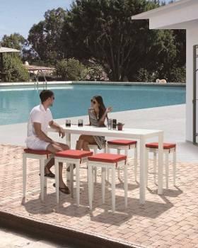 Outdoor Furniture Sets - Outdoor Bar Sets - Florence Bar Set for 6