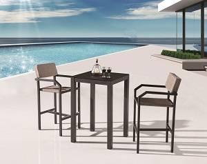 Outdoor Furniture Sets - Outdoor Bar Sets - Barite Bar Set for 2