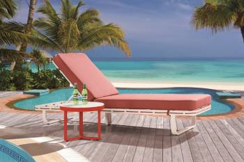Outdoor Furniture Sets - Outdoor Chaise Lounges - Hyacinth Chaise Lounge