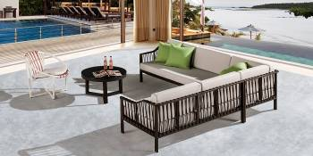 Shop By Collection and Style - Hyacinth Collection - Hyacinth Sofa Set for 6 with Chair