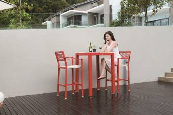 Outdoor Bar Sets - Outdoor Bar Sets For 2 - Hyacinth Bar Set for 2