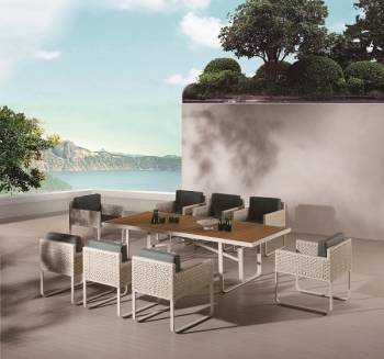 Outdoor Furniture Sets - Outdoor  Dining Sets - Polo Dining Set for 8