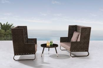 Shop By Collection and Style - Polo Collection - Polo Seating Set for 4 with coffee table