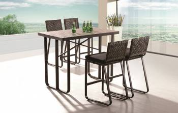 Outdoor Furniture Sets - Outdoor Bar Sets - Polo Bar Set for 4