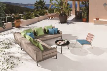 Outdoor Sofa & Seating Sets - Outdoor Seating Sets For 5 - Barite Sofa Set for 4