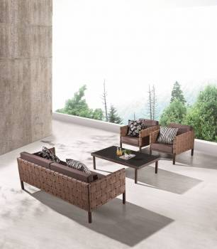 Outdoor Furniture Sets - Outdoor Sofa & Seating Sets - Asthina Sofa Set