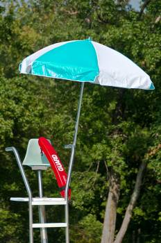 Lifeguard 6.5' Steel Umbrella