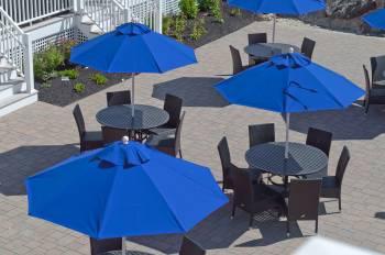 Babmar - Monterey Fiberglass Pulley-Lift Umbrella - Image 7