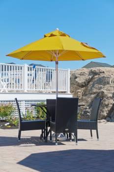 Babmar - Monterey Fiberglass Pulley-Lift Umbrella - Image 8