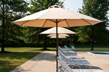 Accessories - Patio Umbrellas - Babmar - Monterey Fiberglass No-Tilt Umbrella