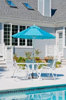 Monterey Fiberglass No-Tilt Umbrella