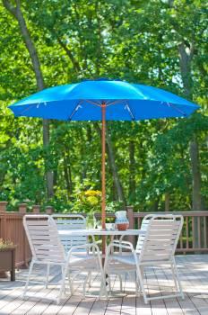 Babmar - Catalina Fiberglass Octogan Patio Umbrella - Image 2
