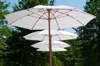 Babmar - Catalina Fiberglass Octogan Patio Umbrella - Image 4