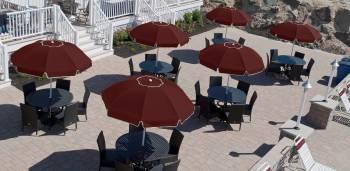Babmar - Catalina Fiberglass Octogan Patio Umbrella - Image 6