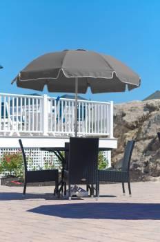 Babmar - Catalina Fiberglass Octogan Patio Umbrella - Image 10