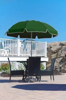 Babmar - Catalina Fiberglass Octogan Patio Umbrella - Image 11