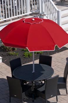 Babmar - Catalina Fiberglass Octogan Patio Umbrella - Image 14