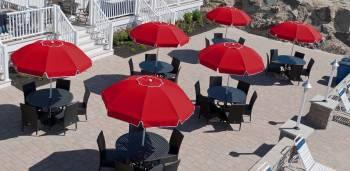 Catalina Fiberglass Octogan Patio Umbrella