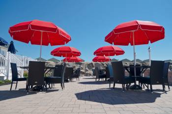 Babmar - Catalina Fiberglass Octogan Patio Umbrella - Image 17