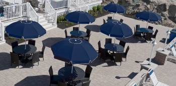 Babmar - Catalina Fiberglass Octogan Patio Umbrella - Image 19