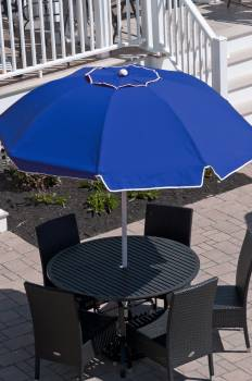 Babmar - Catalina Fiberglass Octogan Patio Umbrella - Image 22