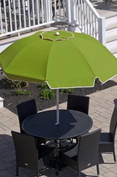 Babmar - Catalina Fiberglass Octogan Patio Umbrella - Image 23