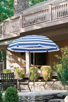 Babmar - Laurel Steel Octogan Patio Umbrella - Image 3