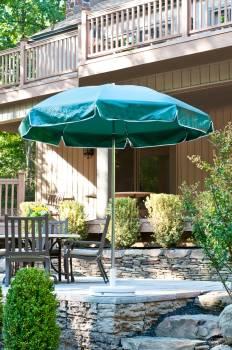 Babmar - Laurel Steel Octogan Patio Umbrella - Image 4