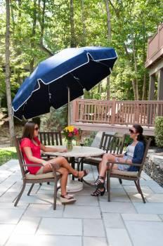 Babmar - Laurel Steel Octogan Patio Umbrella - Image 6