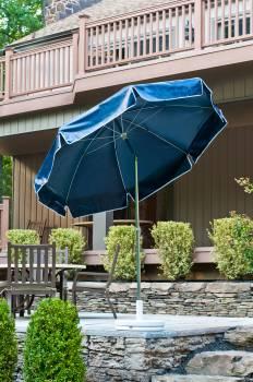 Babmar - Laurel Steel Octogan Patio Umbrella - Image 7