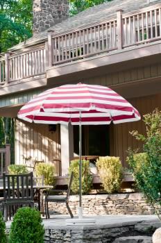 Babmar - Laurel Steel Octogan Patio Umbrella - Image 11