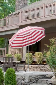 Babmar - Laurel Steel Octogan Patio Umbrella - Image 12