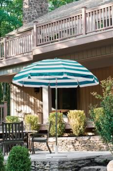 Babmar - Laurel Steel Octogan Patio Umbrella - Image 16
