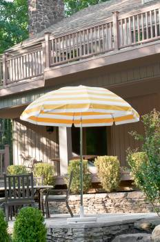 Babmar - Laurel Steel Octogan Patio Umbrella - Image 17