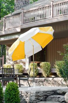 Babmar - Laurel Steel Octogan Patio Umbrella - Image 18