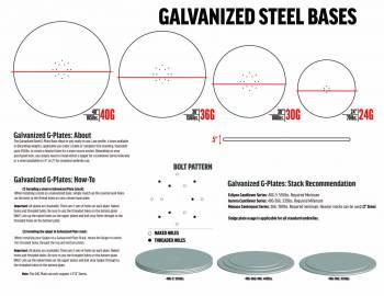 Babmar - Galvanized Steel Umbrella Base - Image 6