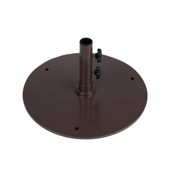 "Babmar - 20"" Round Steel Plated Umbrella Base - Image 4"