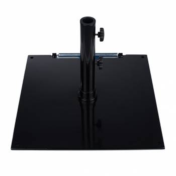 "Babmar - 16"" Square Steel Plated Umbrella Base - Image 2"
