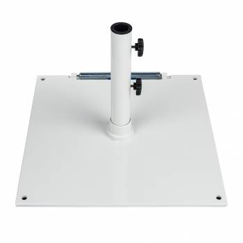 "Babmar - 16"" Square Steel Plated Umbrella Base - Image 4"