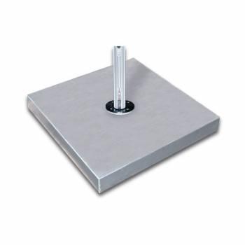 "Babmar - 44"" Square Galvanized Steel Umbrella Base - Image 2"