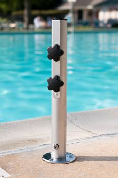 Accessories - Patio Umbrellas  - Babmar - Camlock Deck Mounted Stem for Umbrella