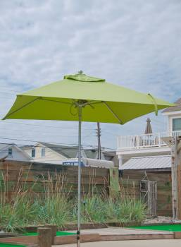 Babmar - Greenwich Aluminum Pulley-Lift Umbrella - Image 8