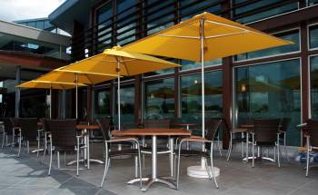 Babmar - Greenwich Aluminum Pulley-Lift Umbrella - Image 10