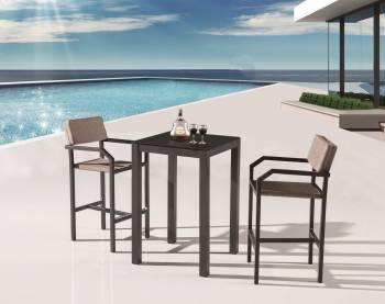 Outdoor Bar Sets - Outdoor Bar Sets For 2 - Barite Bar Set for 2