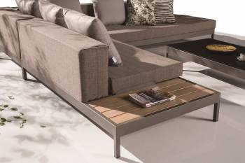 Barite Sofa Set for 6 with Built-in side table - Image 3